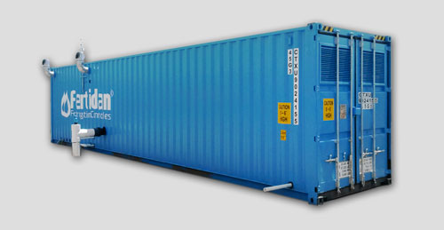 PFS Safety The container solution efficiently protects the installation against any possible theft and vandalism, doing away with the need to construct a building for the fertirrigation system  Contact